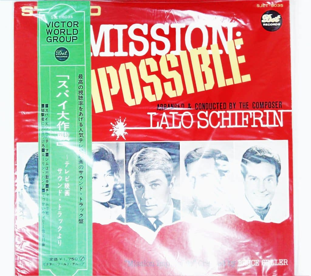 Lalo Schifrin ‎– Music From Mission: Impossible