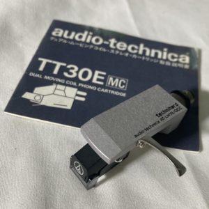 audio-technica TT-30E mcカートリッジ AT-LH15 ヘッドシェル オーディオテクニカ レコードプレイヤー レコード針
